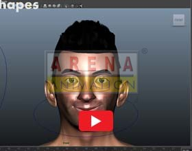 Facial rigging and Animation