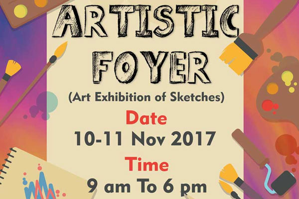 Artistic-Foyer- Art Exhibition of Sketches