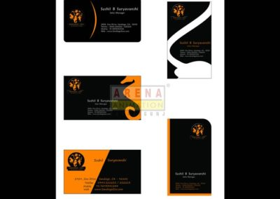 Visiting Card Done