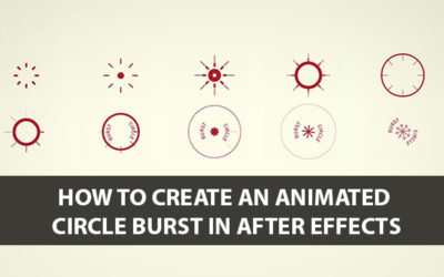 Animated Circle Burst in After Effects