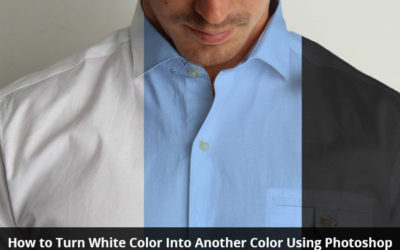How to Turn White Color into Another Color using Photoshop
