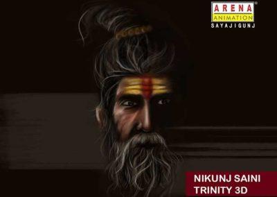 Nikunj-Saini_SADHU-DIGITAL PAINTING