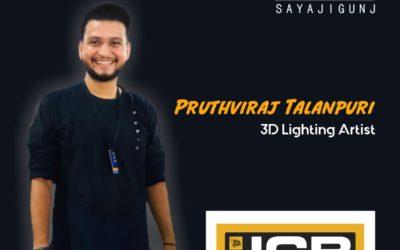 The Success Journey of Pruthviraj Talanpuri – Engineering to 3D Lighting Artist