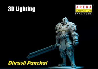 Lighting Work-Dhruvil Panchal