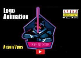 Logo Animation Work by Aryan Vyas