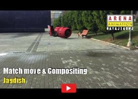 Tracking Matchmove & Compositing by Jagdish
