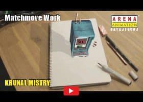 Matchmove Work by Krunal Mistry