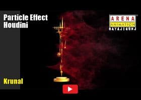 Particle Effect by Krunal