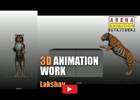 3D Animation Work By Lakshay