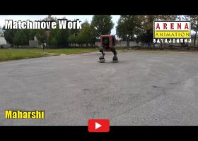 Matchmove and Compositing Work By Maharshi