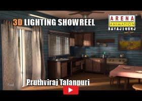 3D Lighting Showreel by Pruthviraj Talanpuri