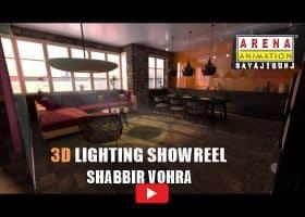 3D Lighting Work by Shabbir Vohra